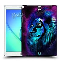 Head Case Designs ライオン グロー Samsung Galaxy Tab A 9.7 専用ハードバックケース