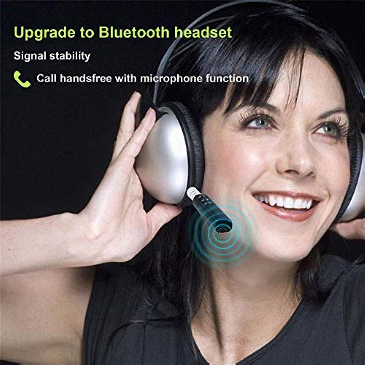 下る寄付する独立したRencaifeinimo2019最新版高速 耐久性が良い ワイヤレスBluetoothレシーバー3.5mmジャックオーディオミュージックアダプター