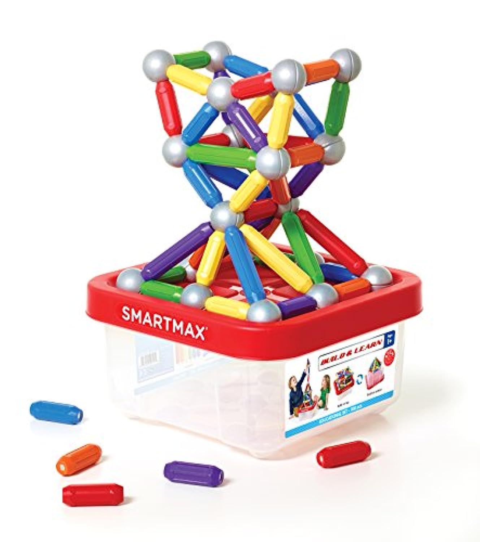 スマートマックス 磁石 おもちゃ ビルド ケース入りメガセット 100ピース 正規品