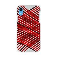 igcase iPhone XR 専用ハードケース スマホカバー カバー ケース pc ハードケース その他 赤 レッド 模様 006051