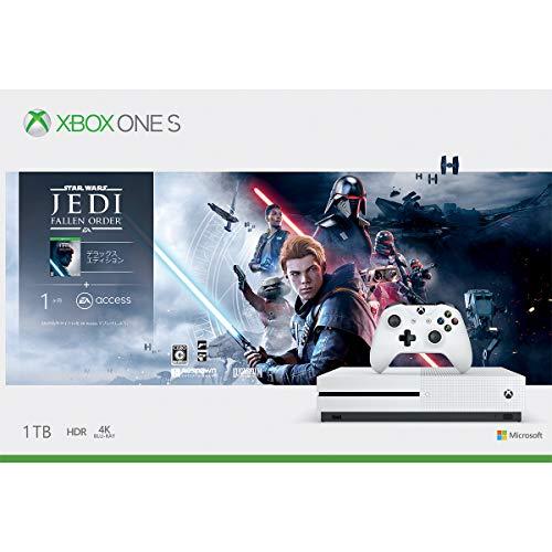 Xbox One S 1 TB Star Wars ジェダイ:フォールン・オーダー™ デラックス エディション 同梱版「デス・スター破壊作戦ミッションコード」 配信 &【Amazon.co.jp限定】オリジナルアクリルキーホルダー 付