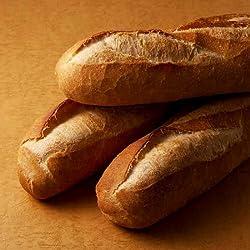 しんさんのパン屋 天然酵母・無添加 フランスパン ( ハードタイプ ) 3本セット