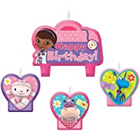 Doc McStuffins Birthday Candleセット(各) – パーティーSupplies