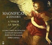 Vivaldi: Magnificat, Concerto; Bach: Magnificat, Concerto by La Capella Reial de Catalunya
