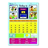 LEARNING RESOURCES MAGNETIC LEARNING CALENDAR (Set of 3) [並行輸入品]