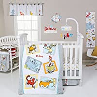 Trend Lab Dr. Seuss Friends 5 Piece Crib Bedding Set Multi [並行輸入品]