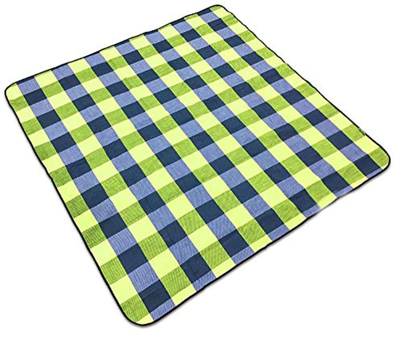 防水 ピクニックマット キャンプマット 折り畳み式 軽量 150×200cm