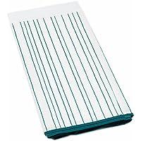 Auggie Painted Stripe Ocean Crib Skirt, Blue by Auggie