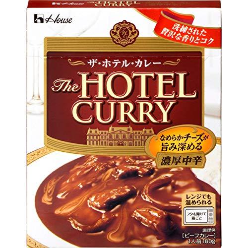 ハウスザ・ホテル・カレー濃厚中辛180g×5個