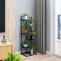 4/5/6層フラワープラントのディスプレイスタンドミニマリストファッションデザインあなたの屋内屋外のリビングルーム (サイズ さいず : 120cm)