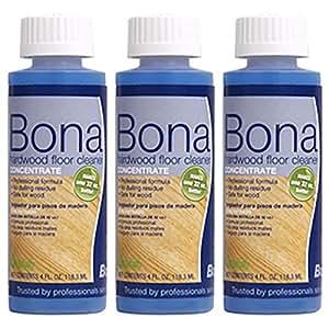 Bona フロアクリーナー濃縮(詰替用) 118ml×3本