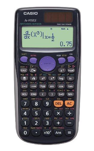 カシオ 関数電卓 数学自然表示 441関数 10桁 fx-915ES-BK ブラック