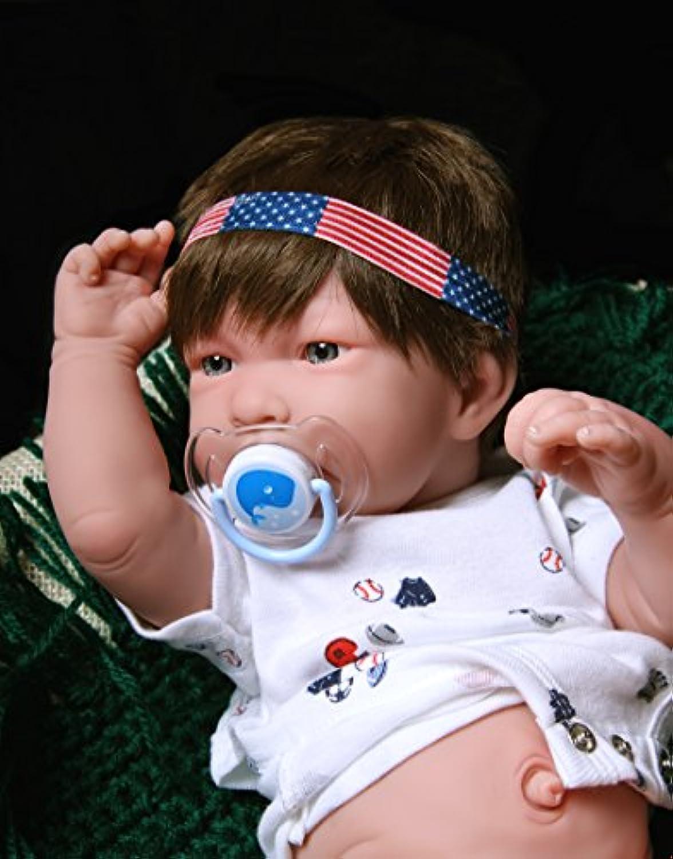 Reborn Baby Boy解剖学的に正しいWashable Berenguerリアルな17