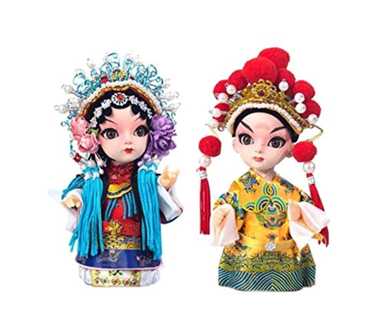クリエイティブ唐の工芸中国北京オペラ人形の装飾