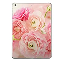 第1世代 iPad Pro 12.9 inch インチ 共通 スキンシール apple アップル アイパッド プロ A1584 A1652 タブレット tablet シール ステッカー ケース 保護シール 背面 人気 単品 おしゃれ フラワー 写真・風景 花 リボン ピンク 005242