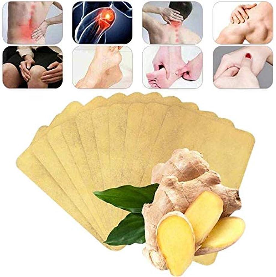 一般化する春不注意50ピースハーブジンジャーパッチ、血液循環の促進、痛みの緩和と睡眠の改善、関節痛