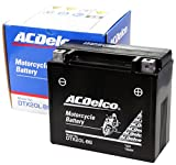 ACDelco [ エーシーデルコ ] シールド型 バイク用バッテリー DTX20L-BS