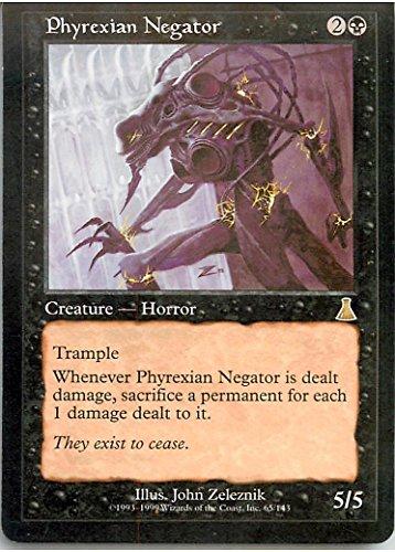 マジックザギャザリング MTG 黒 英語版 ファイレクシアの抹殺者/Phyrexian Negator UDS-65 レア