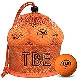 【FST限定モデル】トビエモン(TOBIEMON) ゴルフボール TOBIEMON 視認性抜群! 蛍光マットカラーゴルフボール R&A公認球 2ピース 12球入 オリジナルメッシュバック入 オレンジ T-AMZ-MO マットオレンジ