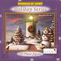 Alan Giana Sparkles in Light Holiday Series Warmth of the Sky 100 Piece Puzzle 【You&Me】 [並行輸入品]