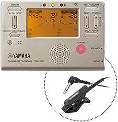 ヤマハ YAMAHA チューナーメトロノームTDM-700GM