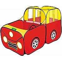 Olayer Kids Play Tent車スタイル折りたたみPlayhouse for Children Gift PresentベビーアウトドアインドアテントおもちゃPlay Gameトンネル
