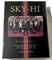 "SKY-HI Tour 2017 Final ""WELIVE"" in BUDOKAN 【初回生産限定盤】(Blu-ray+CD2枚組+スマプラ)"