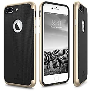 iPhone 7 Plus Case, MYRIANN PREMIUM BUMPER Dual Layer Premium Case Slim Fit Heavy Duty Protective Cover for iPhone 7 Plus (2016) - (Rose Gold) by MYRIANN