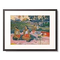 ポール・ゴーギャン Eugène Henri Paul Gauguin 「Sacred Spring (NAVE NAVE MOE). 1894」 額装アート作品