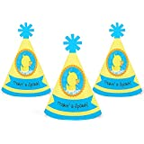 Ducky Duck – Mini円錐ベビーシャワーまたは誕生日パーティー帽子 – スモールLittle Party Hats – 10のセット