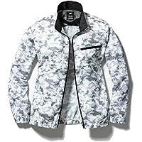 【WinDo】[服のみ] 空調服 2018 新商品 (高い風循環性)服が良く膨らむ (首筋爽快)風を2方向から首へ集中 (超便利な電池操作)服内の電池を外から直接操作可能 (今風デザイン)少し細身なシルエット ポリ100% カモフラ W1162