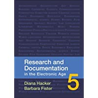 Research and Documentation in the Electronic Age 5th (fifth) edition