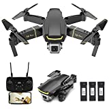 GoolRC GW89 RC Drone with Camera 1080P HD WiFi FPV Drone, Gesture Photo Video Altitude Hold Foldable RC Selfie Quadcopter