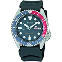 Seiko SKX009 K1 Automatic Blue & Red With Black Dial Men'sAnalog Divers Watch