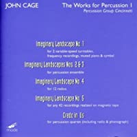 Works for Percussion 1: Percussion Group by J. Cage (2011-04-19)