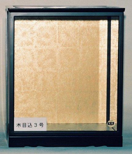 [해외]인형 케이스 木目? 3 호 ?付 내 치수 폭 29cm 깊이 22cm 높이 34.5cm/Doll Case Kimomeki No. 3 inside door size interior opening 29 cm depth 22 cm height 34.5 cm