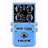 NUX MOD Core DELUXEコーラス/フランジャー/フェイザー/ロータリーギターエフェクター8モジュレーションエフェクトプリセットトーンロック