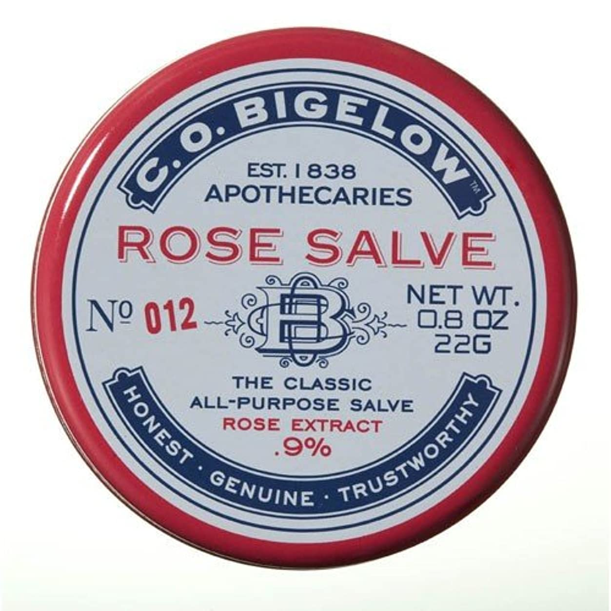 レッスン懐疑的考古学的な[C.O. Begelow] ローズサルベ 全身用万能軟膏