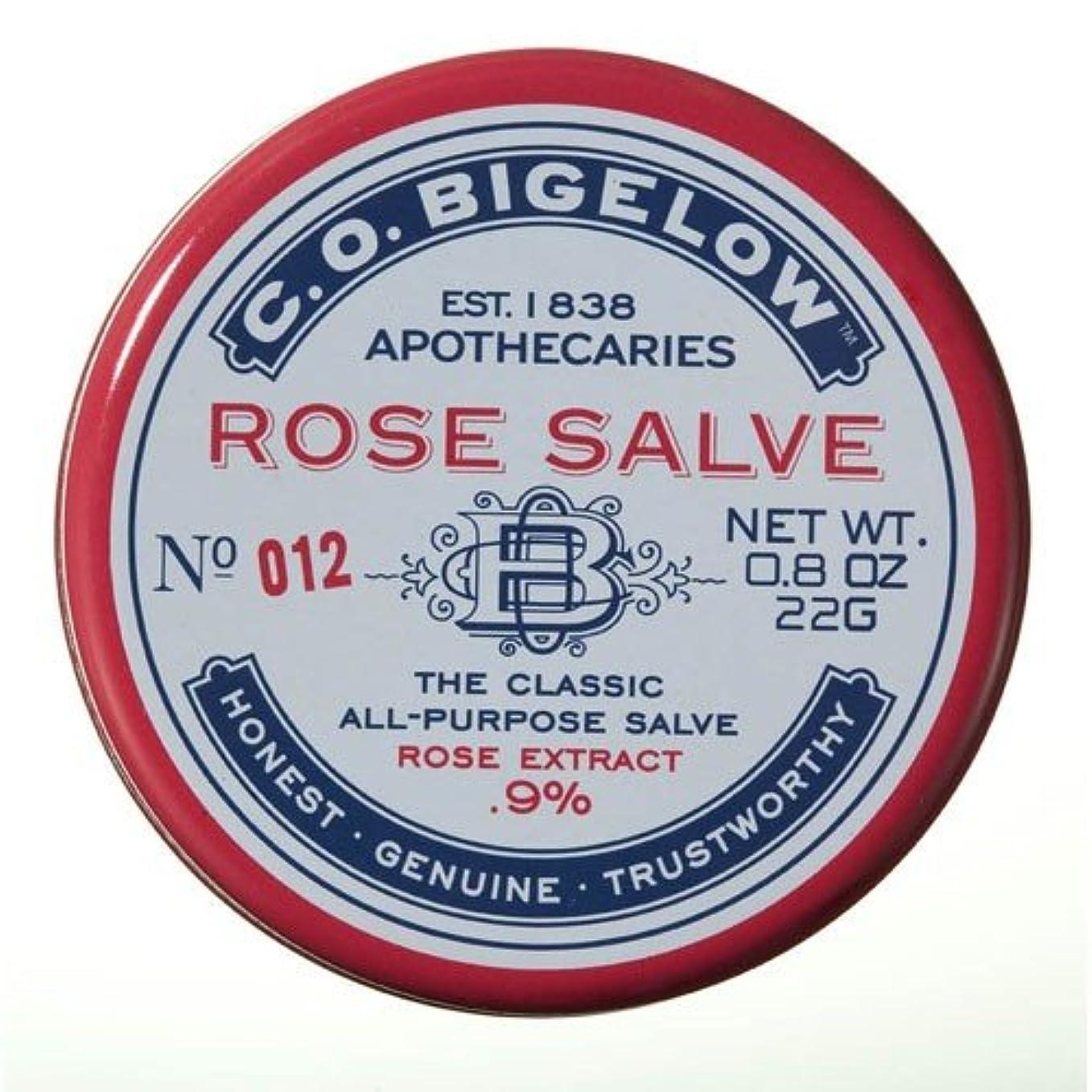 抑制する吹きさらし役立つ[C.O. Begelow] ローズサルベ 全身用万能軟膏
