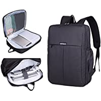 Garybank Waterproof Laptop Backpack for Women Men Both Top Loader and Panel Loader Slim Business Backpack Good for College School Travel Shoulder Tech Bag up to 15.6 inch Laptop & Notebook