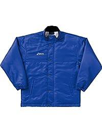 大特価!アシックス(asics) ウオーマージャケット OWW703 45 ブルー 2XO