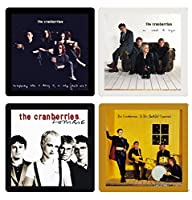 The Cranberries Collectible Coaster Gift Set - (4) Different Album Covers Reproduced Onto Soft Coasters Dolores O'Riordan