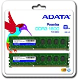 ADATA PC3-12800(DDR3-1600)240pin DIMM8GB(4GB×2枚)デスクトップ Premier AD3U1600W4G11-2