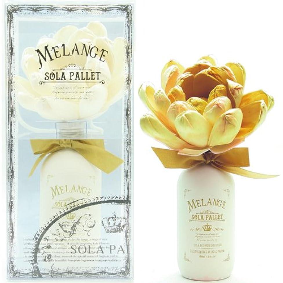 決定的め言葉乳SOLA PALLET MELANGE ソラパレット メランジェ ブルーミングディフューザー ゴールド ライム&メロン