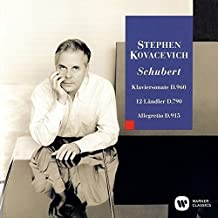 SCHUBERT: PIANO SONATA NO.21:  GERMAN DANCES. OP.