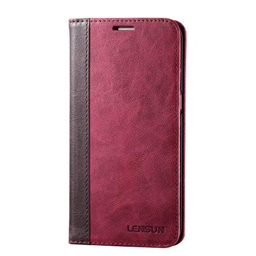 Samsung docomo Galaxy S7 edge SC-02H / Samsung Galaxy S7 edge SCV33 AU 5.5インチ ギャラクシー S7 エッジ用 手帳 カバーケース 手帳型 人気 スタンド機能  S7 エッジ 用 本革レザーケース マグネットなし 磁石なし おしゃれ
