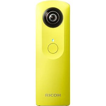 RICOH デジタルカメラ RICOH THETA m15 (イエロー) 全天球 360度カメラ 0910702