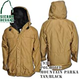 Polartec Mountain Parka 7931: Tan / Black