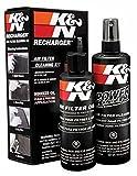 K&N エアーフィルターケアサービスKIT オイル237ml/クリーナー 355ml k&n air filter 99-5050 [並行輸入品]