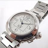 (カルティエ)CARTIER W31055 パシャC ビッグデイト 腕時計 116.6g ステンレススチール/サファイアクリスタル メンズ 中古